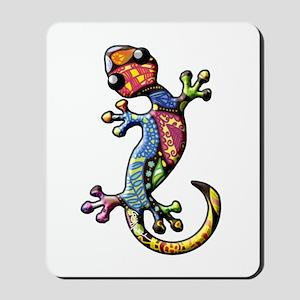 Calico Paisley Lizards Mousepad