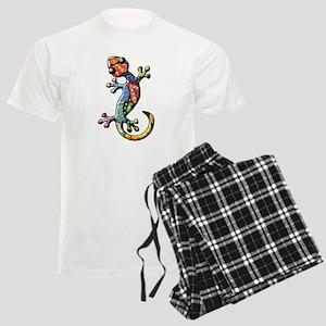 Calico Paisley Lizards Men's Light Pajamas