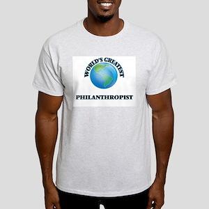 World's Greatest Philanthropist T-Shirt