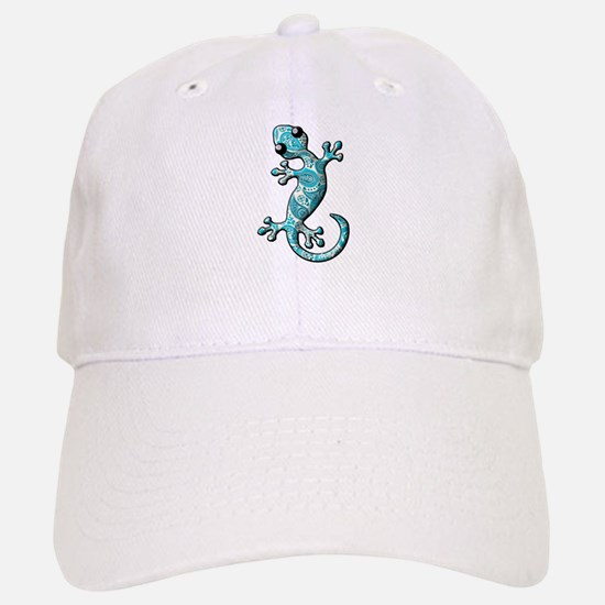 Turquoise Paisley Baseball Baseball Cap
