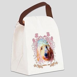 Doodle Love Canvas Lunch Bag
