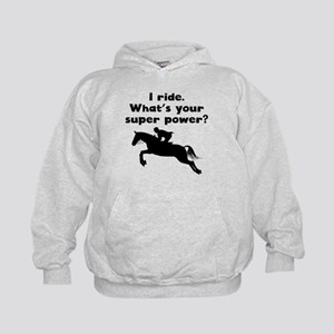 I Ride Super Power Hoodie