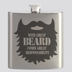 Great Beard - Great Responsability Flask