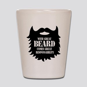 Great Beard - Great Responsability Shot Glass