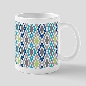 Diamond Geometric Pattern Mug