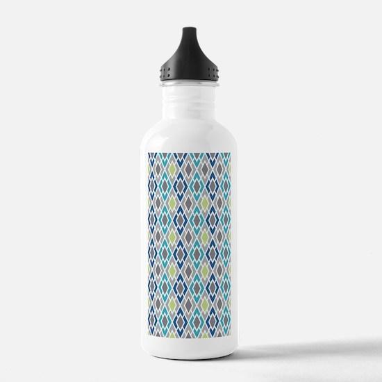 Diamond Geometric Patt Water Bottle