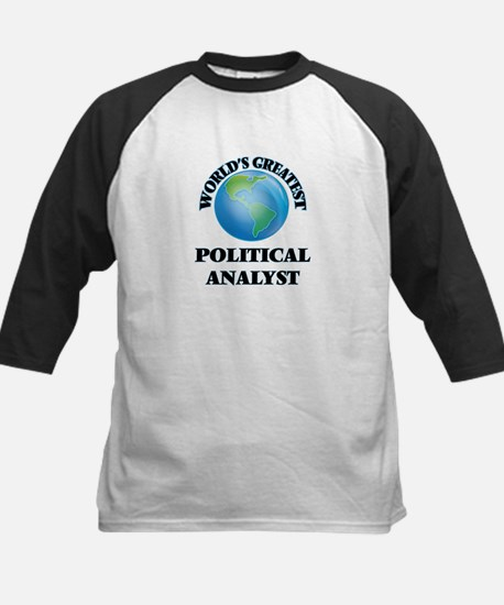 World's Greatest Political Analyst Baseball Jersey