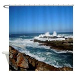 South African Coast Shower Curtain