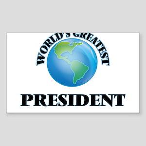 World's Greatest President Sticker