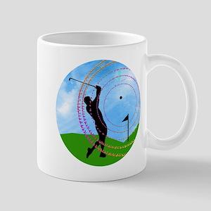 Golf Swing on the Fairway Mugs