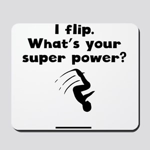 I Flip Super Power Mousepad