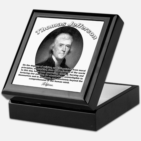 Thomas Jefferson 17 Keepsake Box