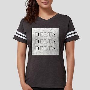 Delta Delta Delta Marble Womens Football Shirt