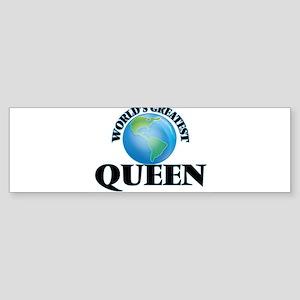 World's Greatest Queen Bumper Sticker