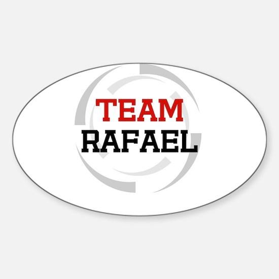 Rafael Oval Decal