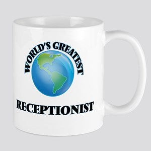 World's Greatest Receptionist Mugs