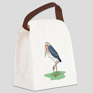 Marabou Stork Canvas Lunch Bag
