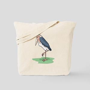 Marabou Stork Tote Bag