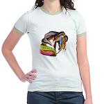 Zalar Carousel Horse Jr. Ringer T-Shirt