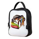 Zalar Carousel Horse Neoprene Lunch Bag