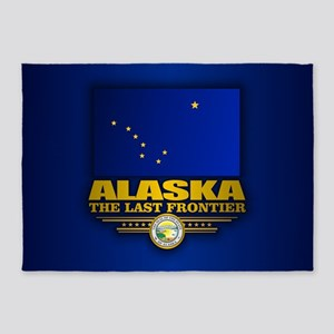 Alaska Flag 5'x7'Area Rug