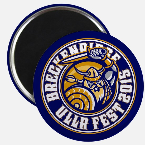 UllrFest 2015 Blue Magnet