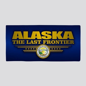 Alaska Flag Beach Towel