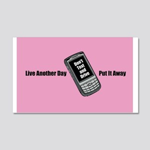 Dont Text and Drive Wall Decal