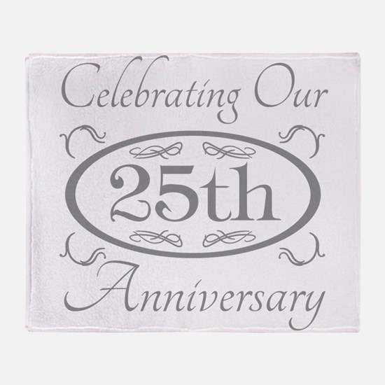 Cute Wedding anniversary Throw Blanket