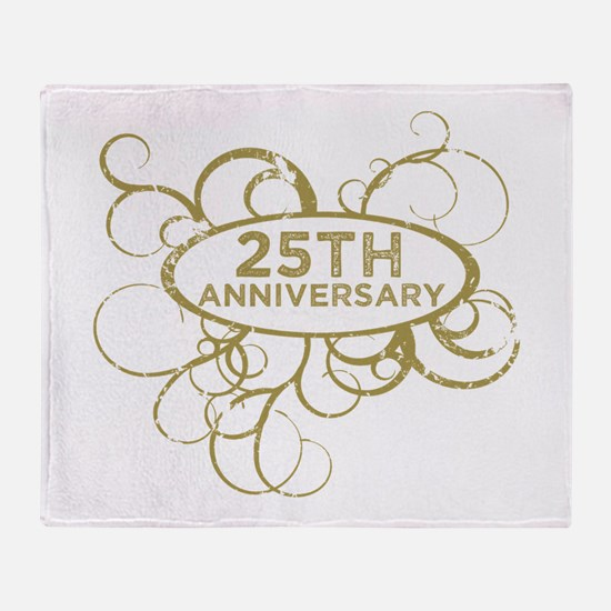 Cool 25th anniversary Throw Blanket