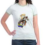 Carousel Horses Jr. Ringer T-Shirt