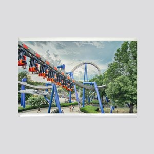 rollercoaster ride Magnets