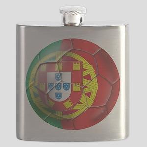 Portuguese Football Soccer Flask