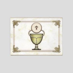 Sacraments 5'x7'Area Rug
