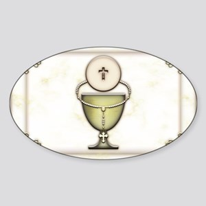 Sacraments Sticker (Oval)