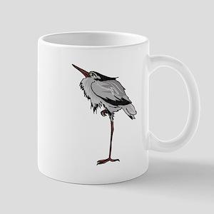 Grey Heron Mugs