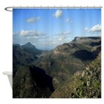 South African Landscape Shower Curtain