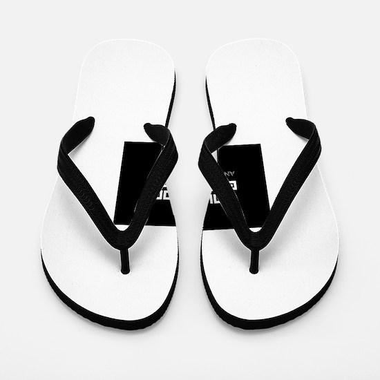 Cool Atheism Flip Flops