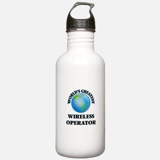Unique Prayer worlds greatest wireless connection Water Bottle