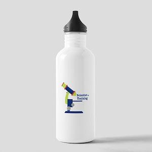 Scientist In Training Water Bottle