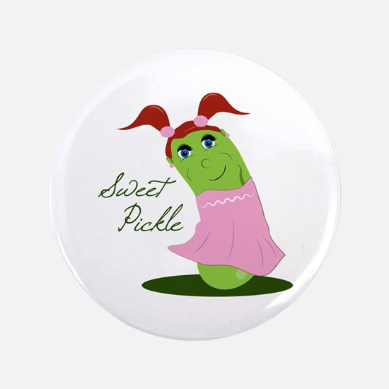 """Sweet Pickle 3.5"""" Button"""