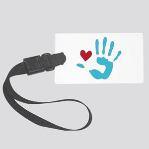 Heart & Hand Luggage Tag