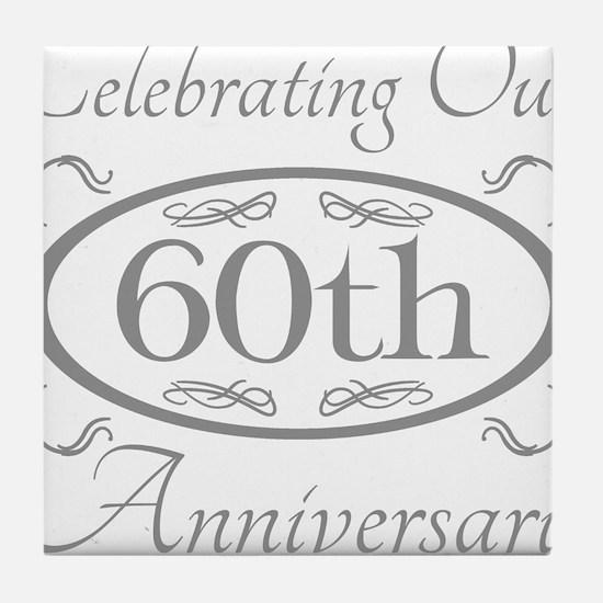 Cool Anniversary Tile Coaster