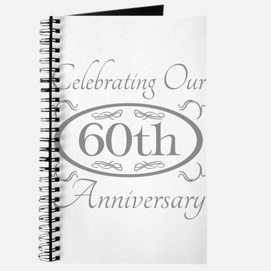 Unique 60 year anniversary Journal