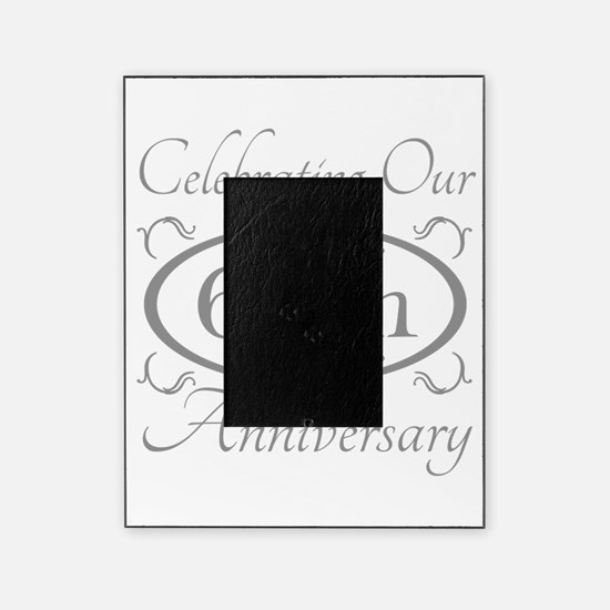Cute 60th wedding anniversary Picture Frame