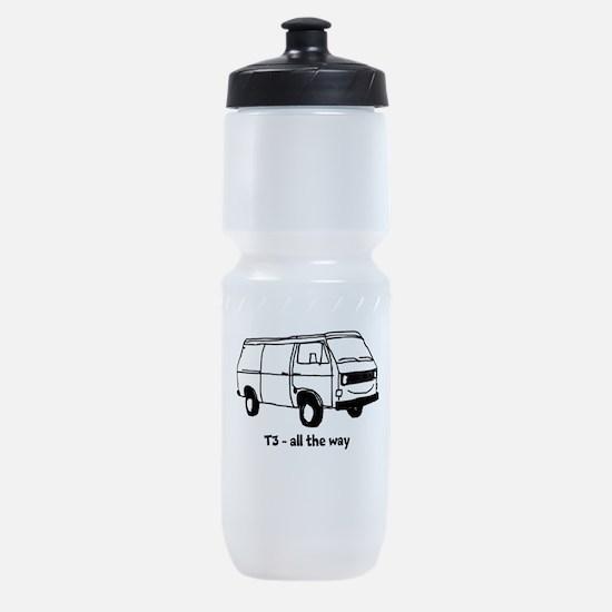 Cute Bulli Sports Bottle