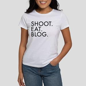 Shoot Blog Eat Design T-Shirt