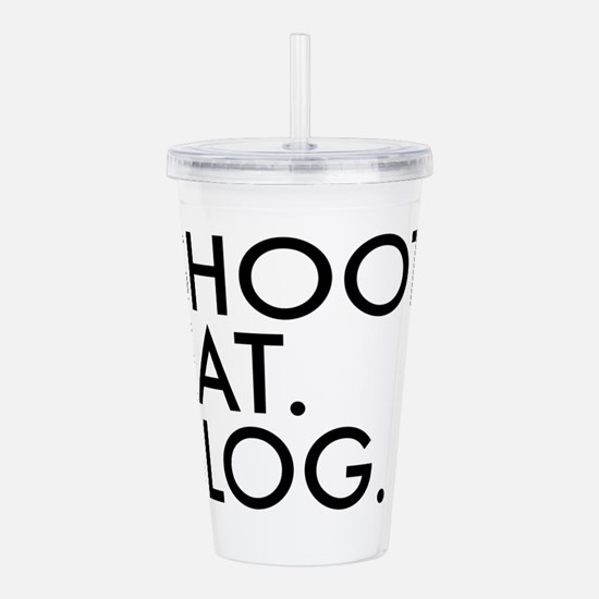 Unique Blogger Acrylic Double-wall Tumbler