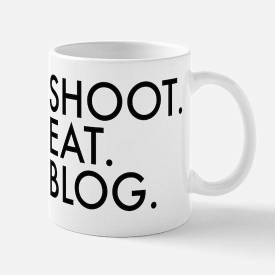 Shoot Blog Eat Design Mugs