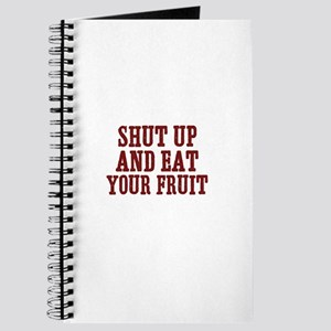 shut up and eat your fruit Journal